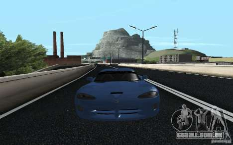 Dodge Viper GTS Monster Energy DRIFT para GTA San Andreas traseira esquerda vista