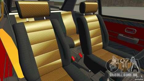 Opel Kadett D GTE Mattig Tuning para GTA San Andreas vista interior
