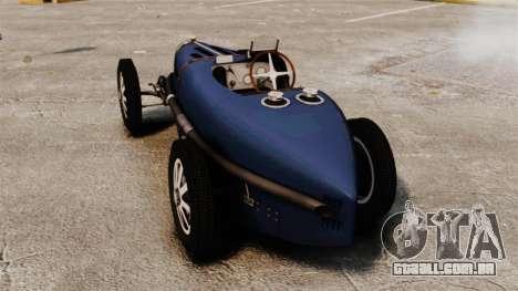 Bugatti Type 51 para GTA 4 traseira esquerda vista
