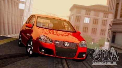 VW Golf V GTI 2006 para GTA San Andreas esquerda vista