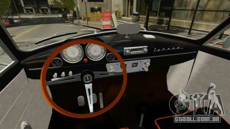 Syrena Coupe V8 para GTA 4 vista de volta