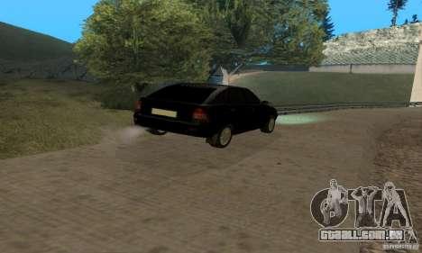 Van LADA priora para GTA San Andreas vista interior