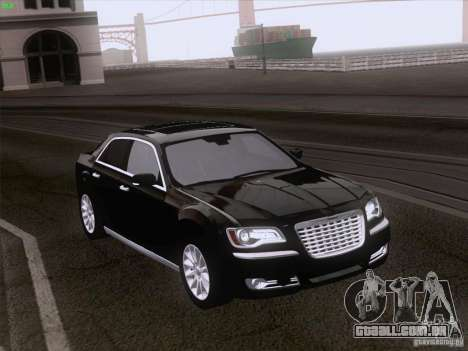 Chrysler 300 Limited 2013 para GTA San Andreas vista direita