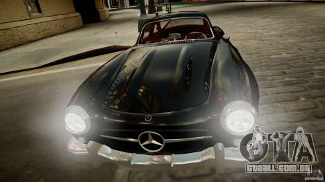 Mercedes-Benz 300 SL Gullwing para GTA 4 vista de volta