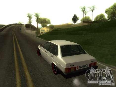 VAZ 21099 v. 2 para GTA San Andreas vista interior