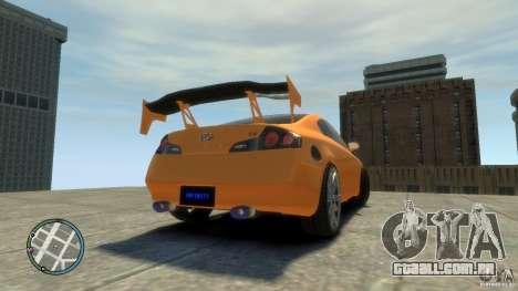 INFINITI G35 COUPE TUNNING para GTA 4 esquerda vista