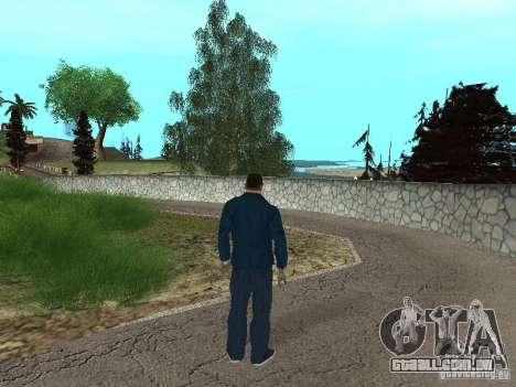CJ Mafia Skin para GTA San Andreas sexta tela