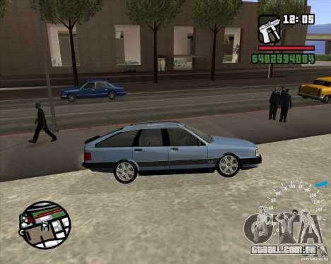 Audi 100 Avant para GTA San Andreas vista direita