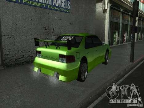 Cores mais brilhantes para carros para GTA San Andreas