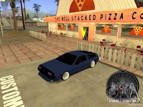 Delorean DMC-12 Drift para GTA San Andreas