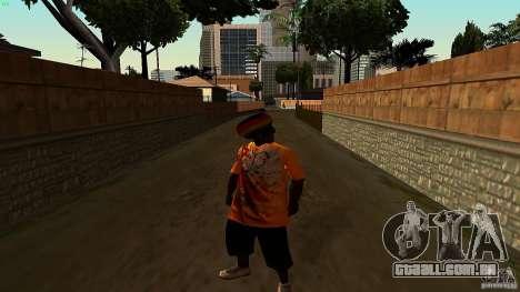 Jamaican Guy para GTA San Andreas segunda tela