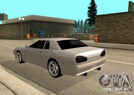 Elegy MIX v2 para GTA San Andreas esquerda vista
