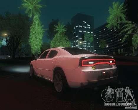 Dodge Charger 2011 para GTA San Andreas traseira esquerda vista
