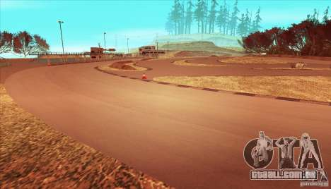 The Ebisu South Circuit para GTA San Andreas sétima tela