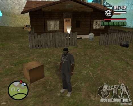 Casa caçador v 2.0 para GTA San Andreas terceira tela