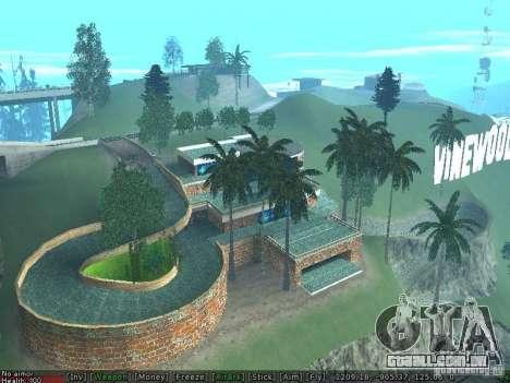 Villa Nova Med-Dogg para GTA San Andreas segunda tela
