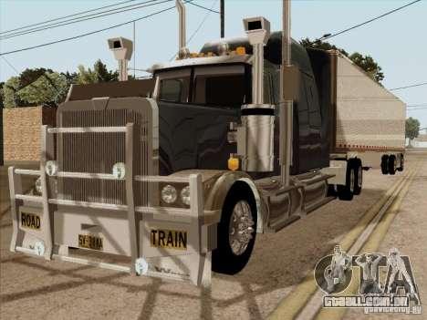 Western Star 4900 Aust para GTA San Andreas