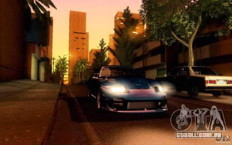Toyota Supra Top Secret para vista lateral GTA San Andreas