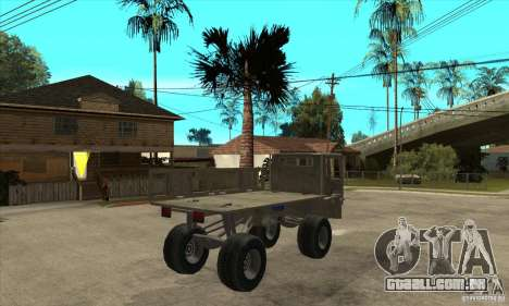 Fast Five Sand King para GTA San Andreas vista direita