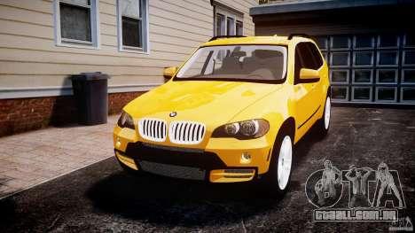 BMW X5 E70 v1.0 para GTA 4