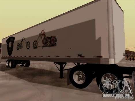 Hell Riders American para GTA San Andreas vista direita