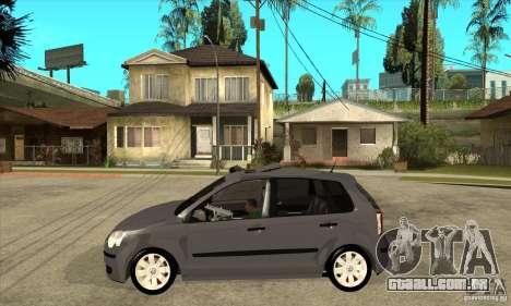 Volkswagen Polo 2008 para GTA San Andreas esquerda vista