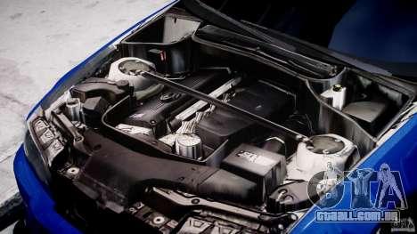 BMW M3 E46 Tuning 2001 para GTA 4 vista de volta
