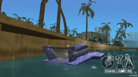 Miss Bud para GTA Vice City vista traseira esquerda