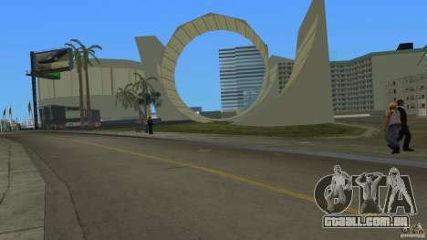 Sunshine Stunt Set para GTA Vice City por diante tela