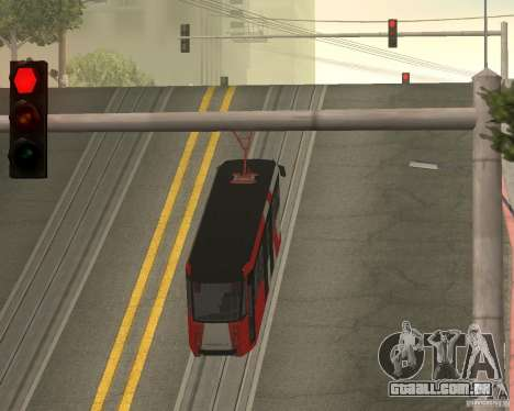 LM-2008 para vista lateral GTA San Andreas