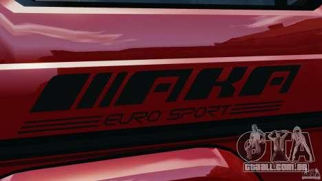 Mercedes-Benz G55 AMG para GTA 4 rodas