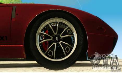 Ford GTX1 Roadster V1.0 para GTA San Andreas vista inferior