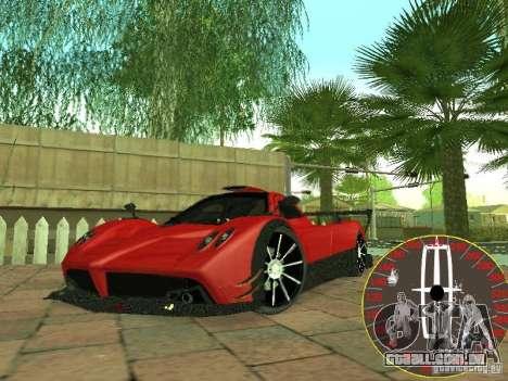 Velocímetro novo Lincoln para GTA San Andreas