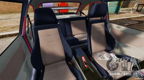Ford Sierra RS500 Cosworth 1987 para GTA 4 vista interior