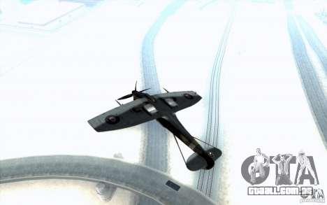 Spitfire para vista lateral GTA San Andreas