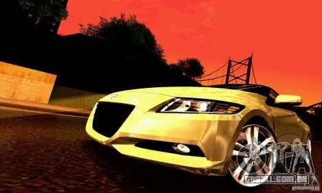 Honda CR-Z 2010 V2.0 para as rodas de GTA San Andreas