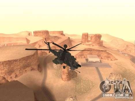 MI 28 Havok para GTA San Andreas