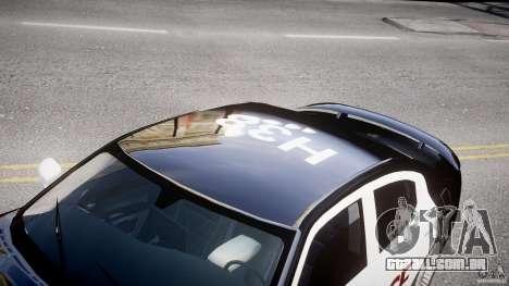 Dodge Charger SRT8 Police Cruiser para GTA 4 vista interior