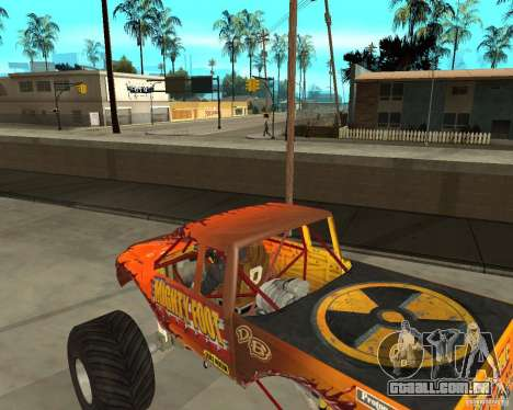 Mighty Foot para GTA San Andreas vista direita
