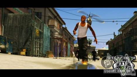 GTA 5 LoadScreens para GTA San Andreas twelth tela