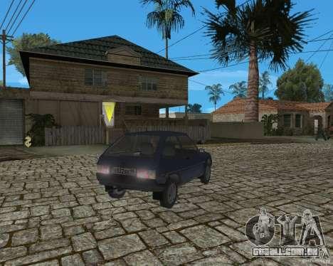 ZAZ Tavria 1102 para GTA San Andreas vista direita