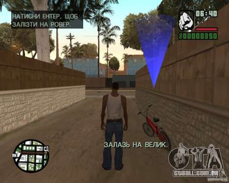 Ukraïnizator 2.0 para GTA San Andreas sexta tela