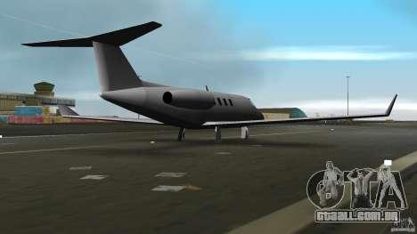 Shamal Plane para GTA Vice City vista direita