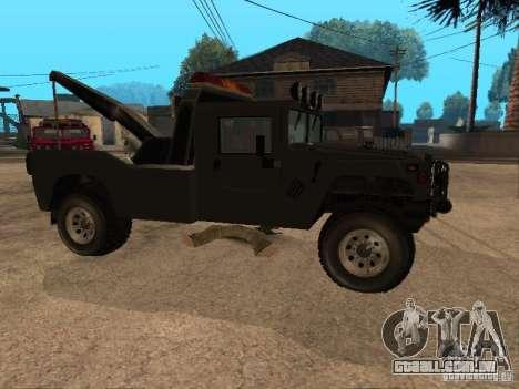 Caminhão HUMMER H1 para GTA San Andreas vista direita
