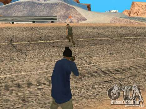 Sistema modificado pedov para GTA San Andreas terceira tela