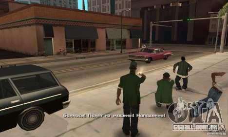 Crack para a versão Steam do GTA San Andreas para GTA San Andreas oitavo tela