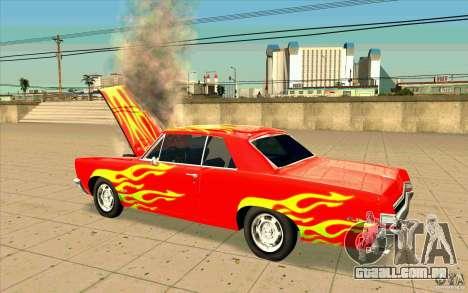 Dead car para GTA San Andreas segunda tela