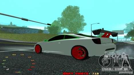 Toyota Celica v2 para GTA San Andreas esquerda vista