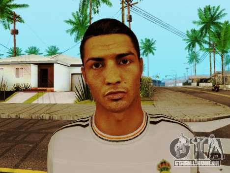 Cristiano Ronaldo v1 para GTA San Andreas sexta tela