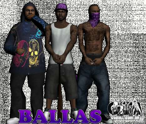New Ballas para GTA San Andreas